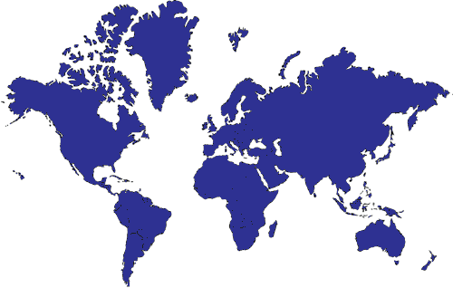 Seen Overseas World Map
